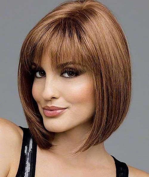 Short Hair with Bangs-6