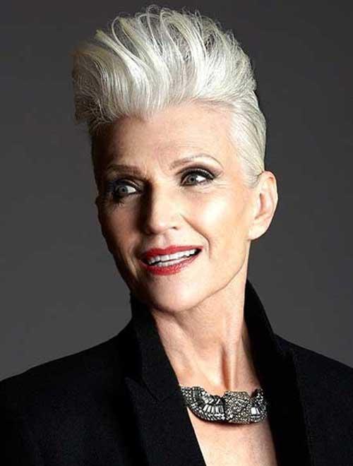 Short Hair Styles for Older Women-7