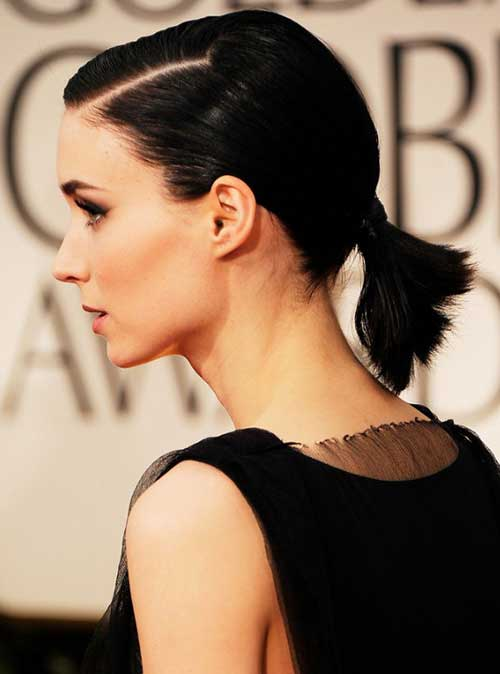 Ponytail Hairstyles for Short Hair-7
