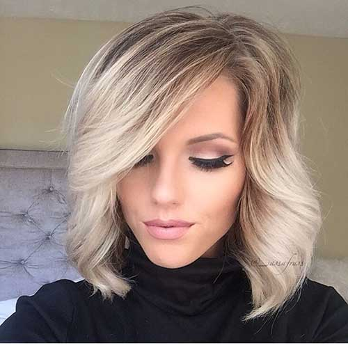 Blonde Ombre Short Hair-9