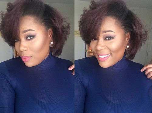 Short Haircuts for Black Women-9