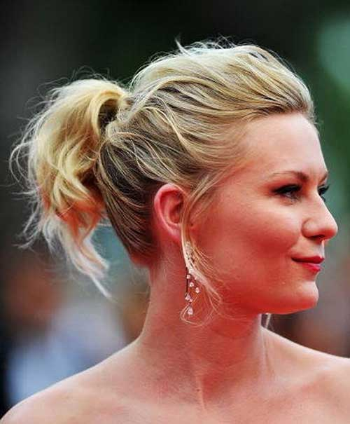 Ponytail Hairstyles for Short Hair-9