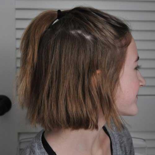 Ponytail Styles for Short Hair
