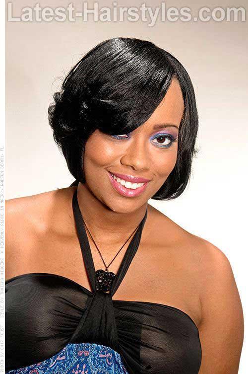Short Hairstyles for Black Girls-11