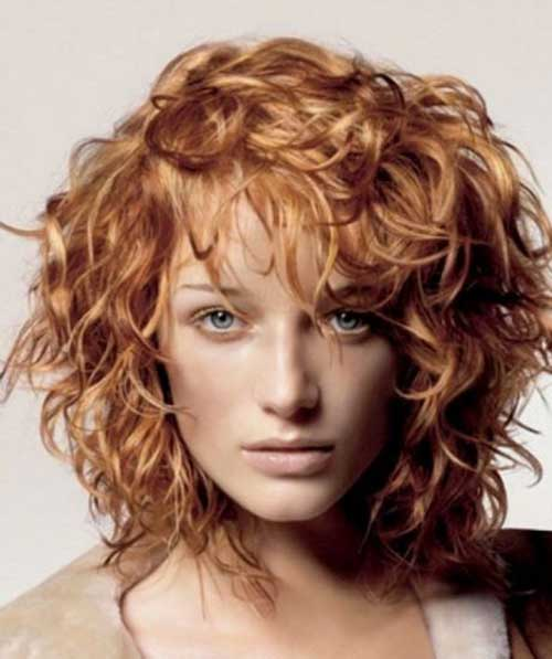 Short Hairstyles for Thick Curly Hair-12