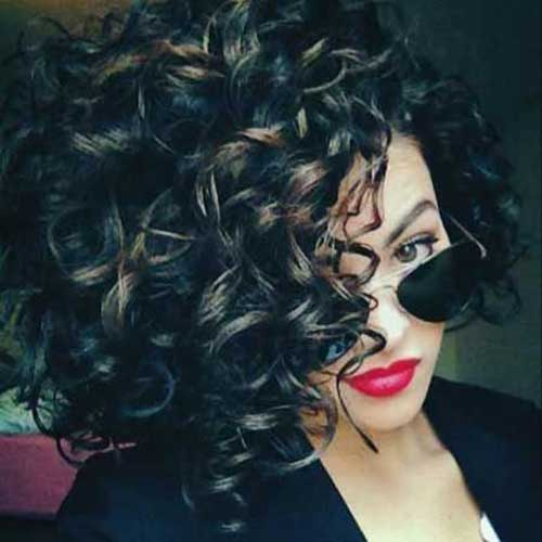 Short Hairstyles for Curly Hair-13