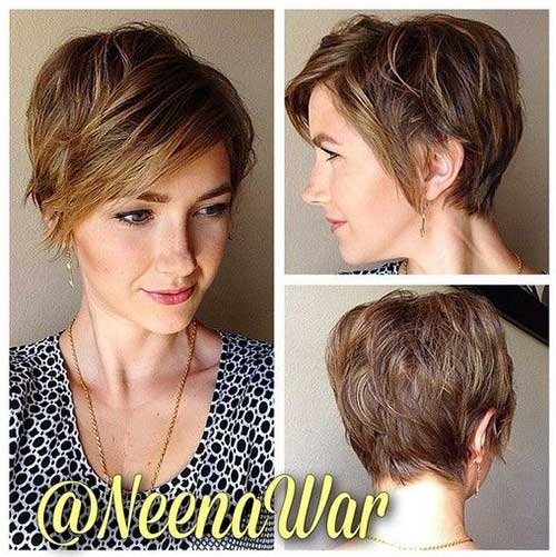 Layered Haircuts for Short Hair-14