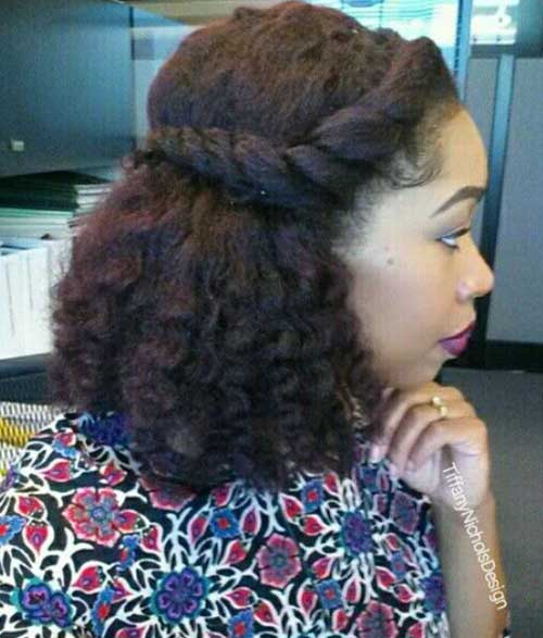 Short Hairstyles for Black Girls-14
