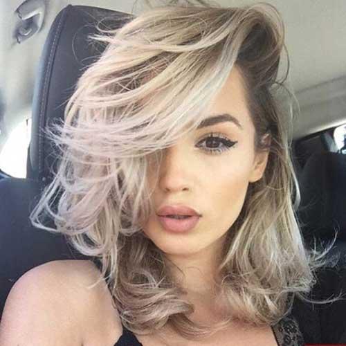 Medium To Short Haircuts-16