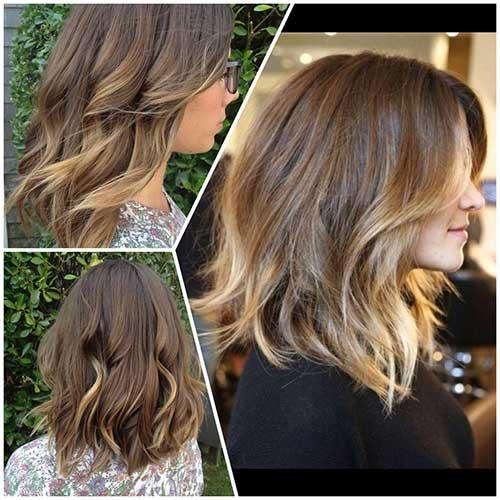 Medium To Short Haircuts-17