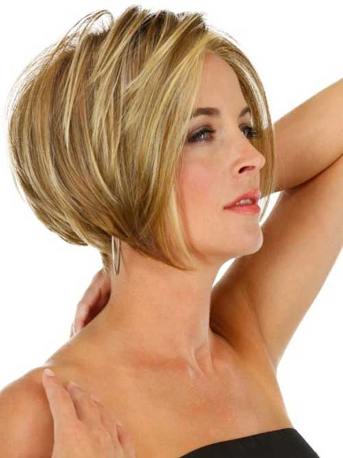 Short Haircuts for Mature Ladies-17