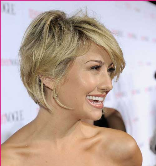 Bob Haircuts with Side Bangs-19
