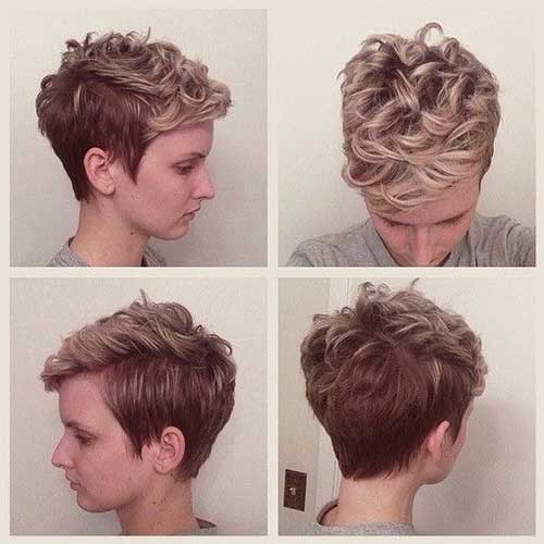 Short Hairstyles for Curly Hair-20