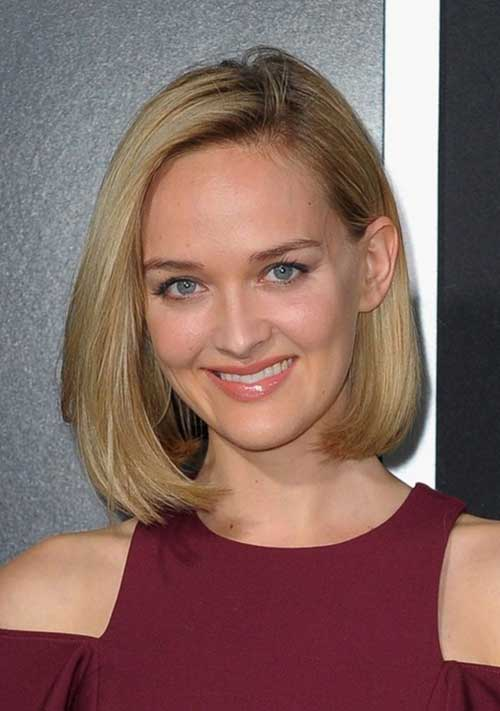 2014 Short Bob Hairstyles for Thick Hair Cuts
