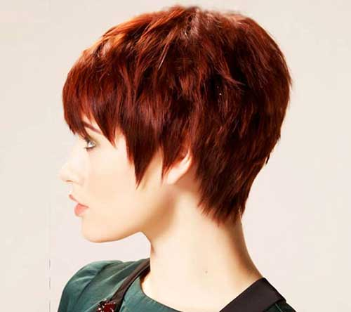 2014 Short Hairstyles for Pixie Thick Hair