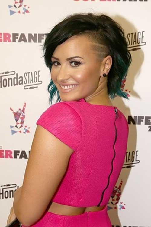 2015 Short Side Shaved Hair