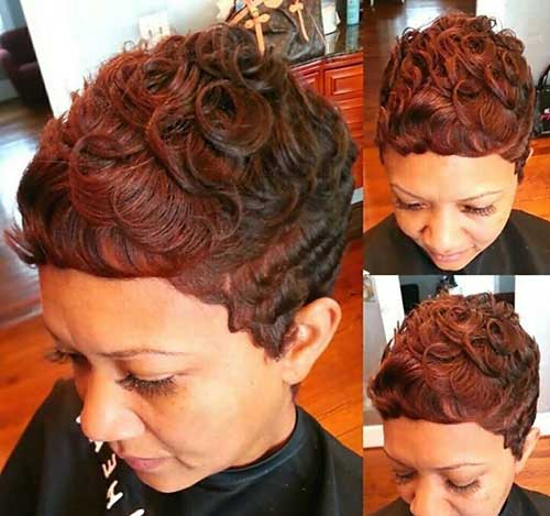 Short Hairstyles for Curly Hair-6