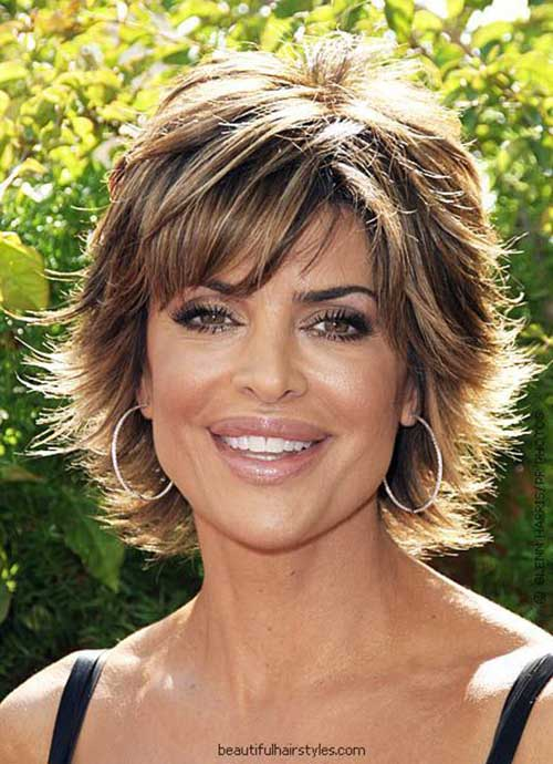 Short Haircuts for Mature Ladies-7