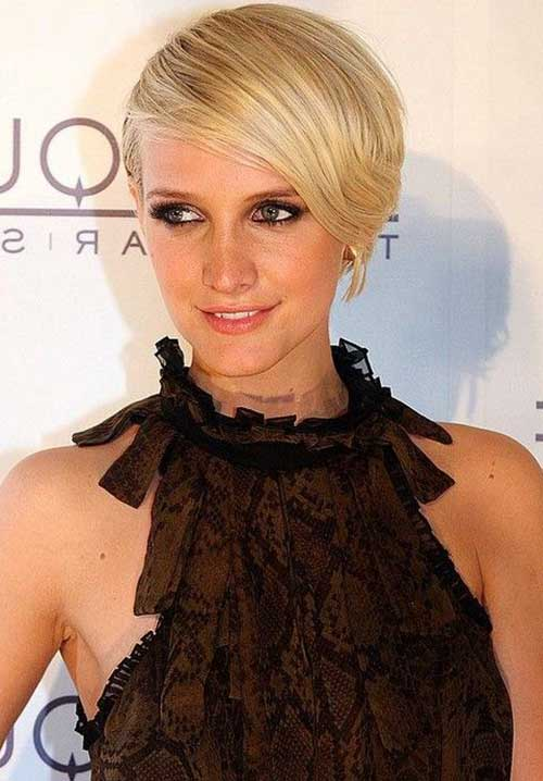 Bob Haircuts with Side Bangs-8