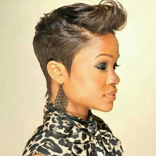 Pixie Cuts For African American Hair