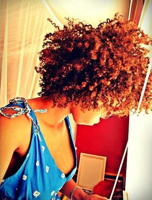 Trendy Afro Hairstyles for Short Hair