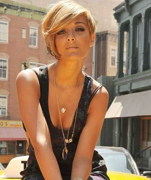 Asymmetrical Long Pixie Trendy Hairstyles