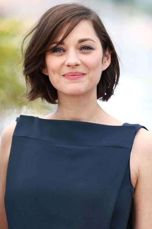 Best Celebrity Textured Short Hair Cut