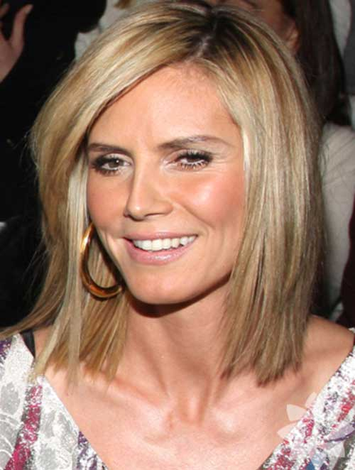 heidi klum bob hairstyle the best short hairstyles for women 2015. Black Bedroom Furniture Sets. Home Design Ideas