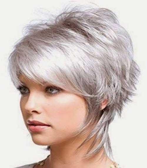 Best Layered Short Fine Hair Cut for 2014