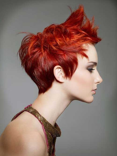 Best Textured Pixie Hair Style