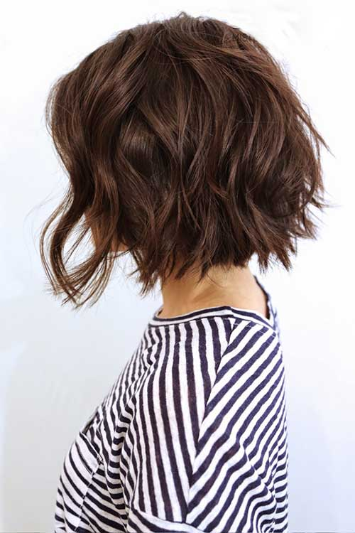 Best Textured Short Dark Haircuts