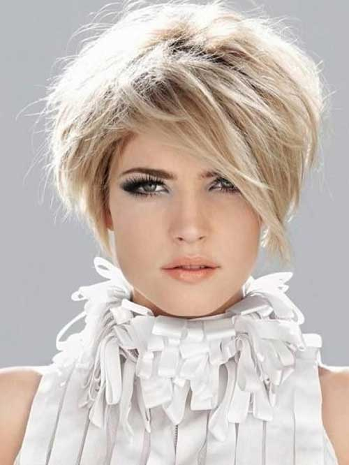 Best Textured Short Haircuts 2014