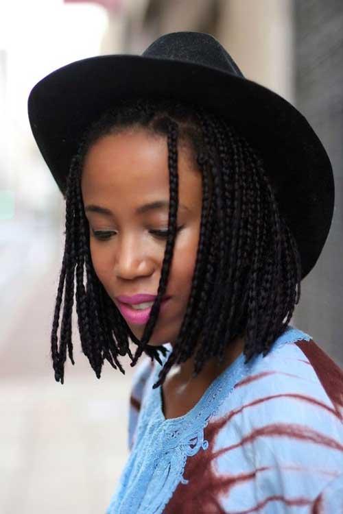Black Girl Braided Bob Hairstyles