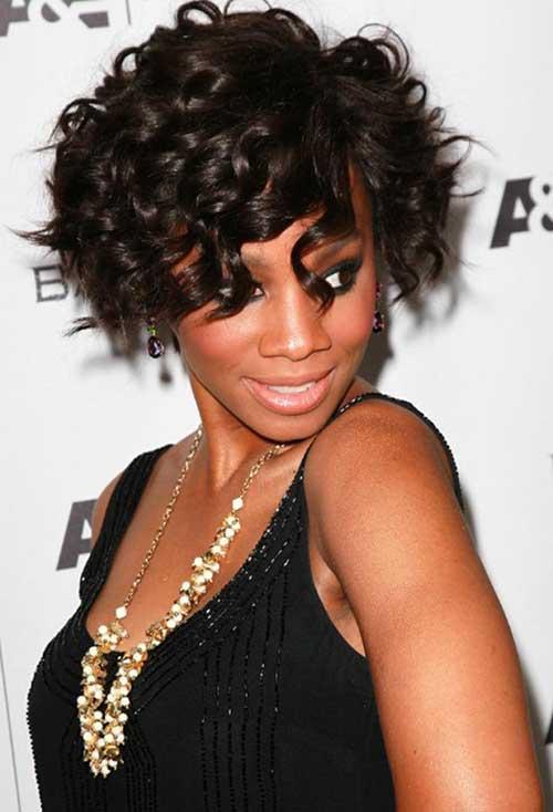 Black Girl Curly Bob Hairstyles