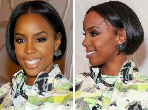 Black Girl Straight Bob Hairstyles