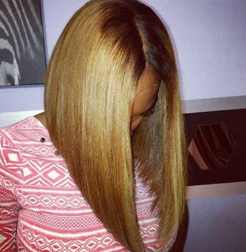 Black Girls with Honey Blonde Bobs