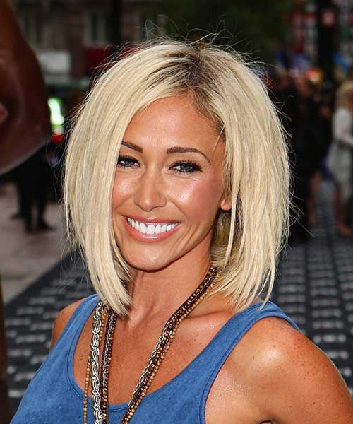 Blonde Bob for Thick Haircuts