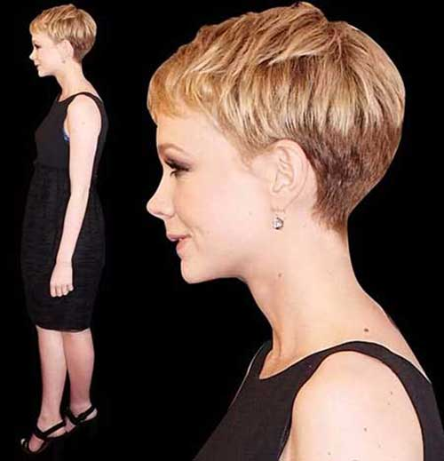 Carrie Mulligan Pixie Cut Side View