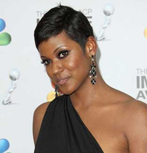 Chic Very Short Hairstyles for Black Women