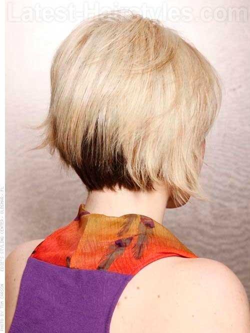Classy Bob Haircuts Back View