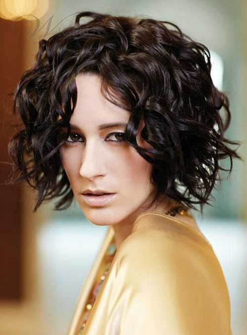 Curly Weave Short Hair Cut Ideas