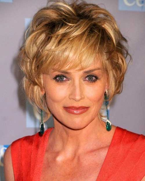 Cute Blonde Short Hairstyles for Over 50