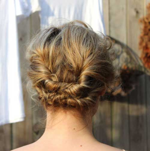 Cute Bob Hair Updos Ideas
