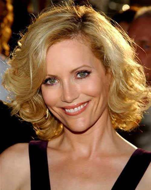 Cute Bob Short Hairstyles for Over 50