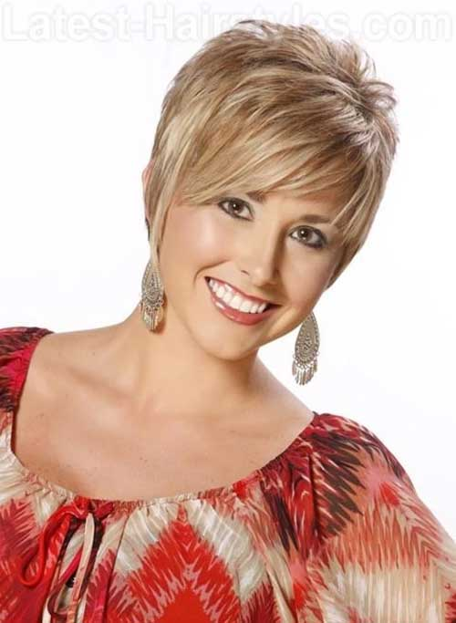 Cute Short Fringe Hairstyles Ideas for Thick Hair