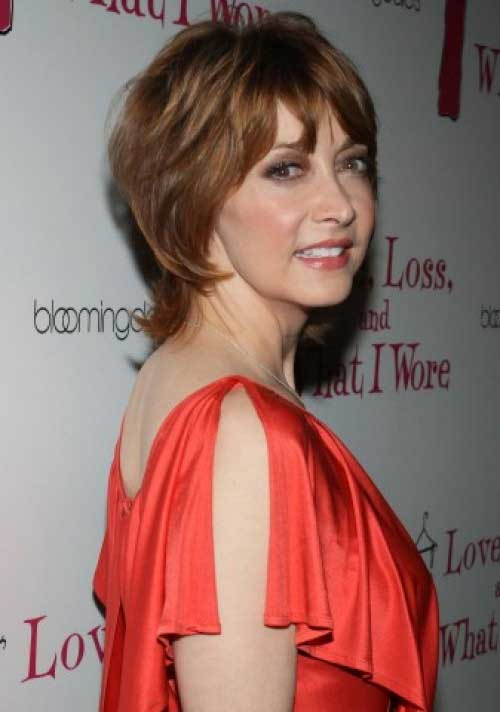 Best Cute Short Hairstyles for Over 50