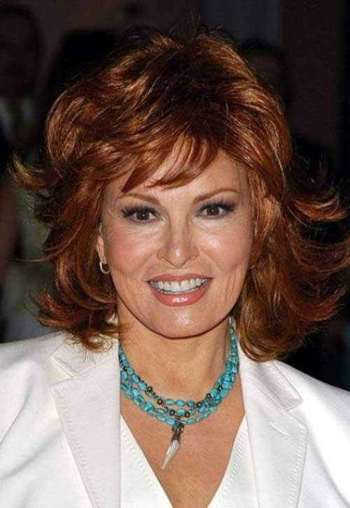 Cute Short Layered Hairstyles for Women Over 50