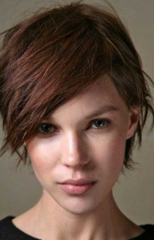 Cute Short Long Pixie Hairstyles for Thick Hair
