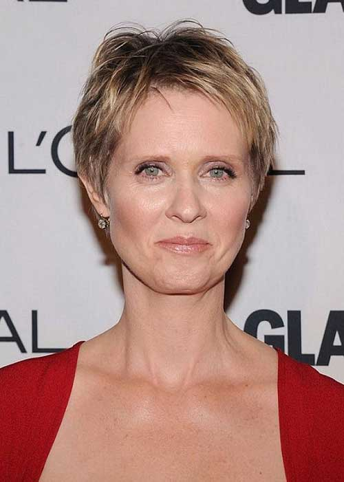 Fine Classy Pixie Haircuts Ideas for Women Over 50