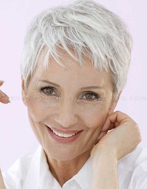 Best Fine Pixie Cuts for Over 50